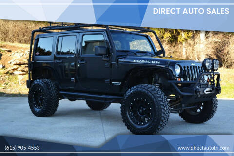 2013 Jeep Wrangler Unlimited for sale at Direct Auto Sales in Franklin TN