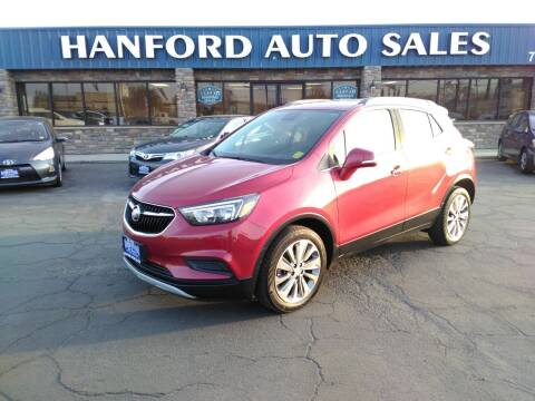 2017 Buick Encore for sale at Hanford Auto Sales in Hanford CA