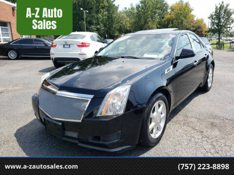 2008 Cadillac CTS for sale at A-Z Auto Sales in Newport News VA
