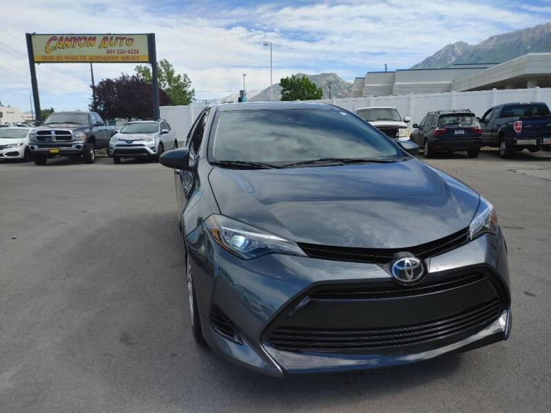 2019 Toyota Corolla for sale at Canyon Auto Sales in Orem UT