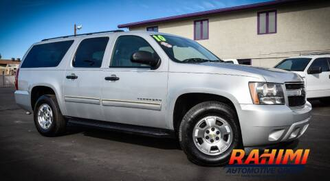 2010 Chevrolet Suburban for sale at Rahimi Automotive Group in Yuma AZ