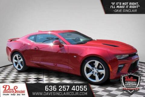 2018 Chevrolet Camaro for sale at Dave Sinclair Chrysler Dodge Jeep Ram in Pacific MO