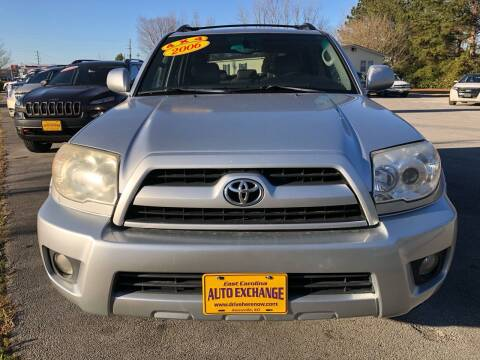 2006 Toyota 4Runner for sale at East Carolina Auto Exchange in Greenville NC