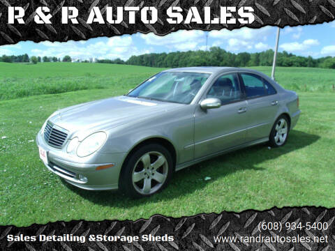 2004 Mercedes-Benz E-Class for sale at R & R AUTO SALES in Juda WI