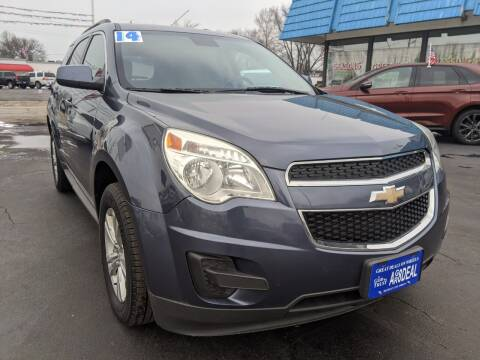 2014 Chevrolet Equinox for sale at GREAT DEALS ON WHEELS in Michigan City IN