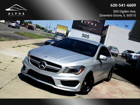 2015 Mercedes-Benz CLA for sale at Alpha Luxury Motors in Downers Grove IL