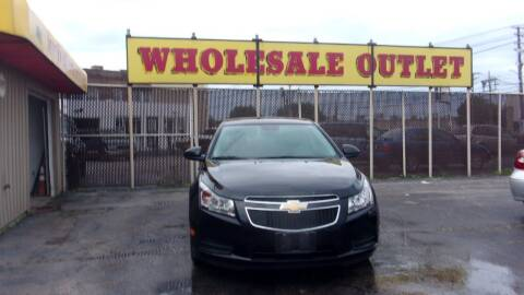 2014 Chevrolet Cruze for sale at LONG BROTHERS CAR COMPANY in Cleveland OH
