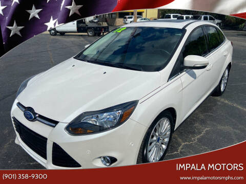 2012 Ford Focus for sale at IMPALA MOTORS in Memphis TN