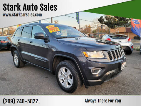 2015 Jeep Grand Cherokee for sale at Stark Auto Sales in Modesto CA