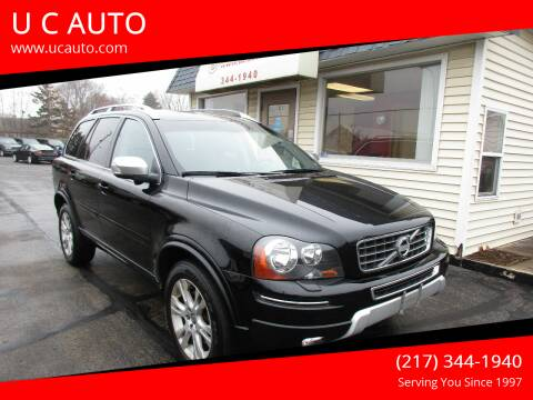 2013 Volvo XC90 for sale at U C AUTO in Urbana IL