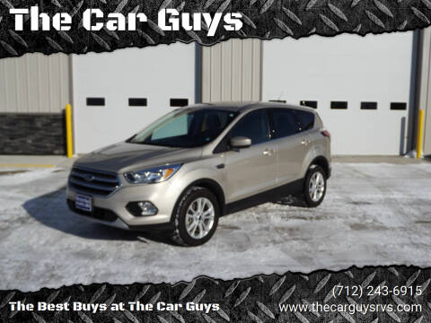 2017 Ford Escape for sale at The Car Guys in Atlantic IA