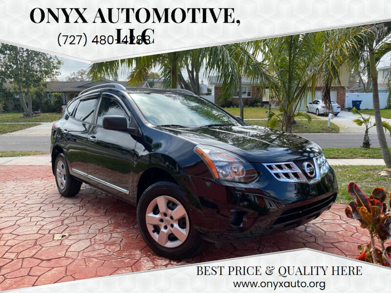 2014 Nissan Rogue Select for sale at ONYX AUTOMOTIVE, LLC in Largo FL