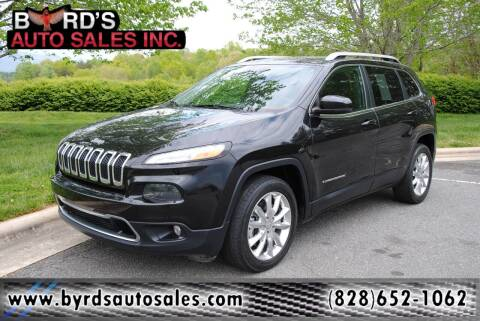 2015 Jeep Cherokee for sale at Byrds Auto Sales in Marion NC