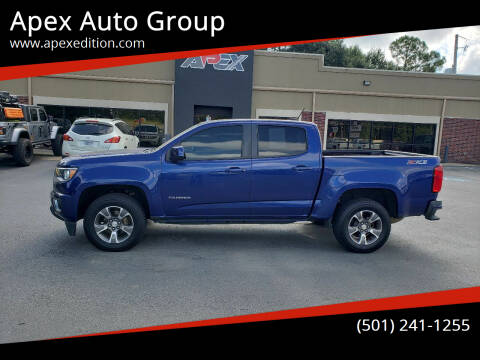 2016 Chevrolet Colorado for sale at Apex Auto Group in Cabot AR