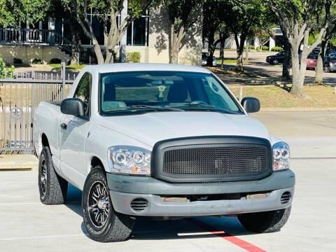 2008 Dodge Ram Pickup 1500 for sale at Texas Drive Auto in Dallas TX