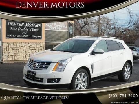 2014 Cadillac SRX for sale at DENVER MOTORS in Englewood CO