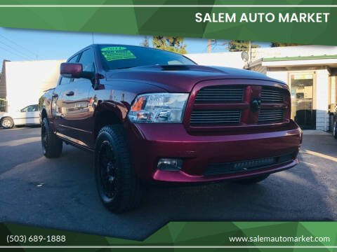 2011 RAM Ram Pickup 1500 for sale at Salem Auto Market in Salem OR
