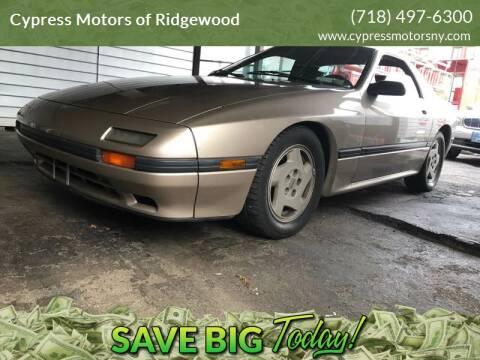 1986 Mazda RX-7 for sale at Cypress Motors of Ridgewood in Ridgewood NY