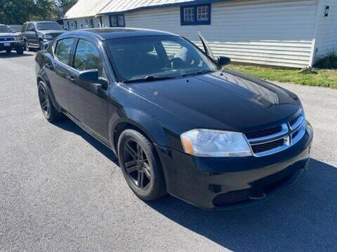 2012 Dodge Avenger for sale at Boris Auto Sales & Repairs in Harrisonburg VA
