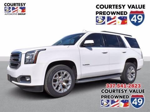 2017 GMC Yukon for sale at Courtesy Value Pre-Owned I-49 in Lafayette LA
