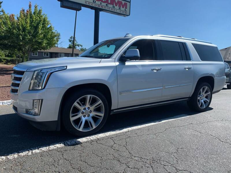 2016 Cadillac Escalade ESV for sale at South Commercial Auto Sales in Salem OR