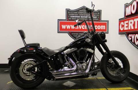 2013 Harley-Davidson SOFTAIL SLIM for sale at Certified Motor Company in Las Vegas NV