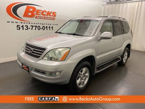 2006 Lexus GX 470 for sale at Becks Auto Group in Mason OH