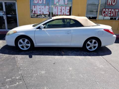 2006 Toyota Camry Solara for sale at BSS AUTO SALES INC in Eustis FL