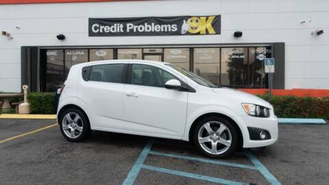 2012 Chevrolet Sonic for sale at Car Depot in Miramar FL