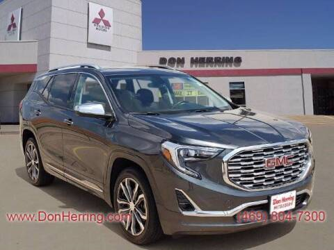 2018 GMC Terrain for sale at DON HERRING MITSUBISHI in Irving TX
