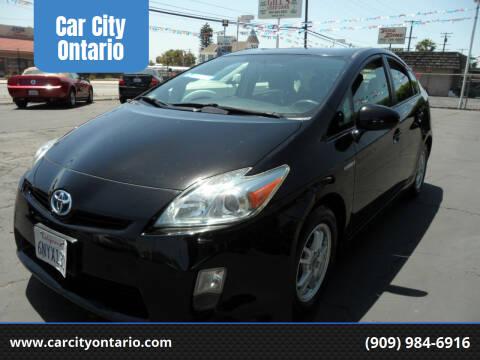 2010 Toyota Prius for sale at Car City Ontario in Ontario CA