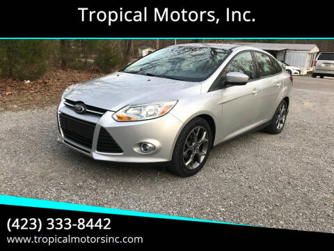2012 Ford Focus for sale at Tropical Motors, Inc. in Riceville TN