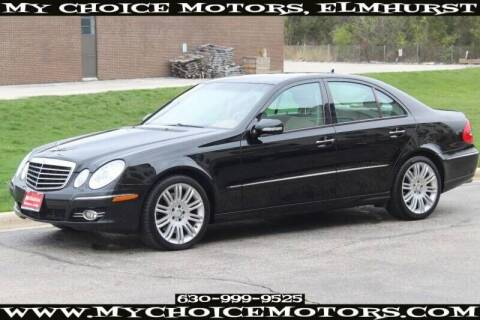 2008 Mercedes-Benz E-Class for sale at My Choice Motors Elmhurst in Elmhurst IL
