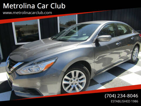 2016 Nissan Altima for sale at Metrolina Car Club in Matthews NC