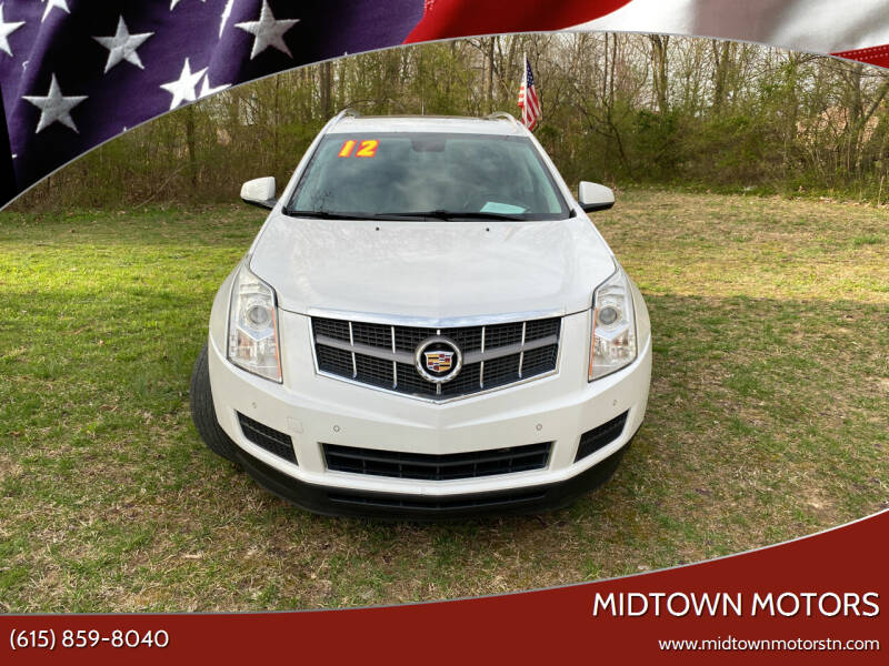 2012 Cadillac SRX for sale at Midtown Motors in Greenbrier TN