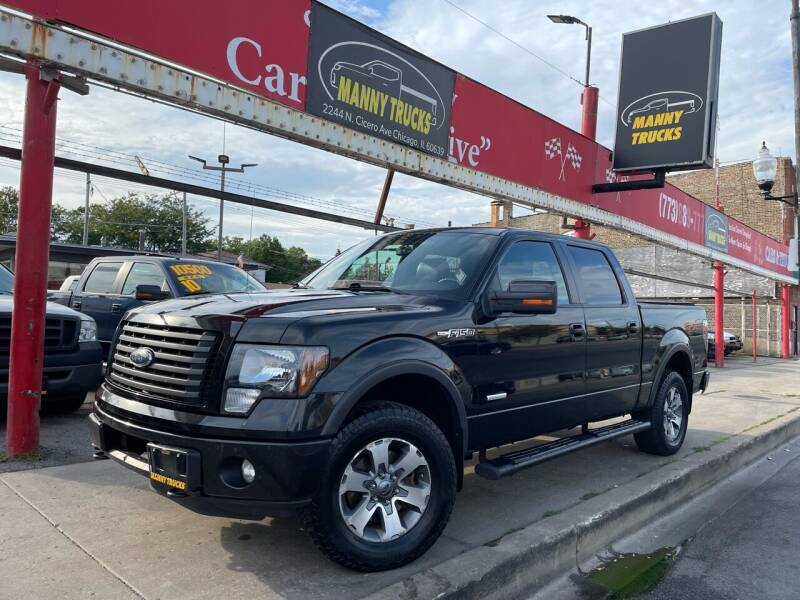 2012 Ford F-150 for sale at Manny Trucks in Chicago IL