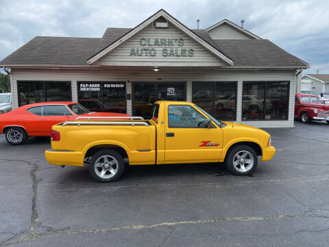 2003 GMC Sonoma for sale at Clarks Auto Sales in Middletown OH