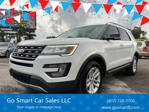 2017 Ford Explorer for sale at Go Smart Car Sales LLC in Winter Garden FL