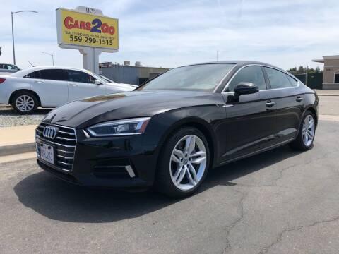 2019 Audi A5 Sportback for sale at Cars 2 Go in Clovis CA