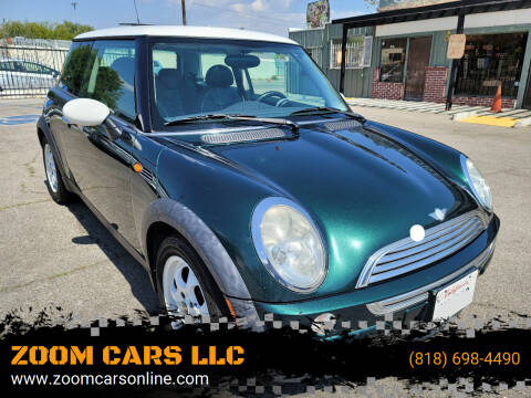 2004 MINI Cooper for sale at ZOOM CARS LLC in Sylmar CA