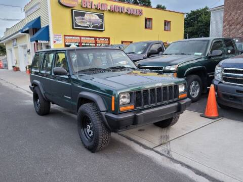 1999 Jeep Cherokee for sale at Bel Air Auto Sales in Milford CT