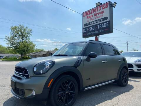 2016 MINI Countryman for sale at Unlimited Auto Group in West Chester OH