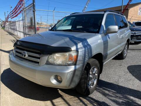 2006 Toyota Highlander for sale at The PA Kar Store Inc in Philladelphia PA