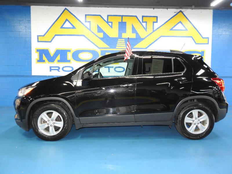 2018 Chevrolet Trax for sale at ANNA MOTORS, INC. in Detroit MI