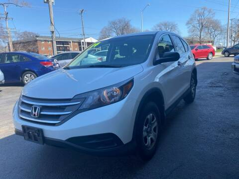 2014 Honda CR-V for sale at TOP YIN MOTORS in Mount Prospect IL