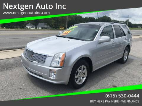 2009 Cadillac SRX for sale at Nextgen Auto Inc in Smithville TN