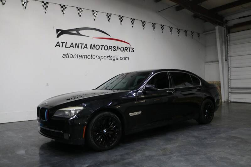 2011 BMW 7 Series for sale at Atlanta Motorsports in Roswell GA