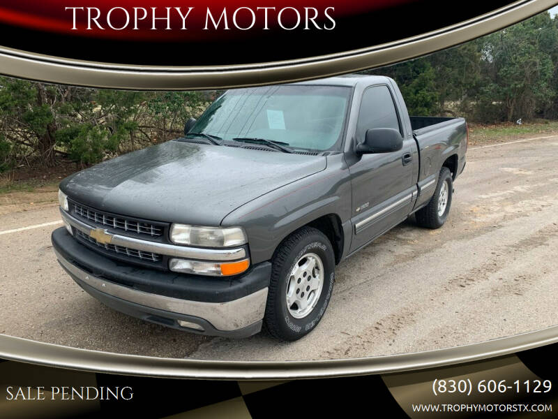 2002 Chevrolet Silverado 1500 for sale at TROPHY MOTORS in New Braunfels TX