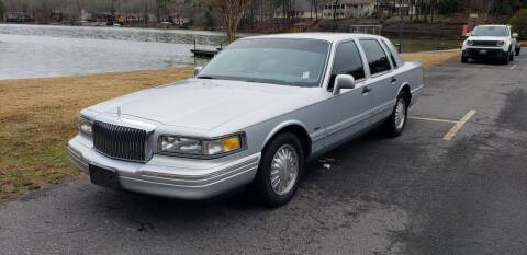 1997 Lincoln Town Car for sale at Village Wholesale in Hot Springs Village AR
