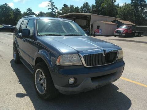 2003 Lincoln Aviator for sale at TEXAS MOTOR CARS in Houston TX
